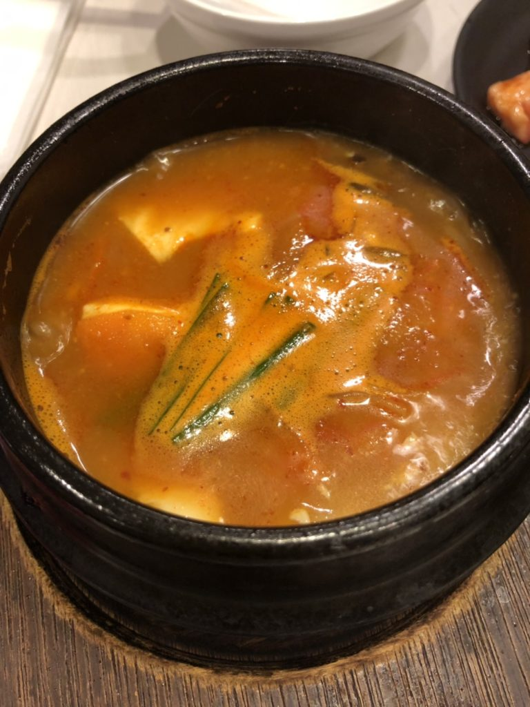 じゅうじゅうカルビキムチスープ