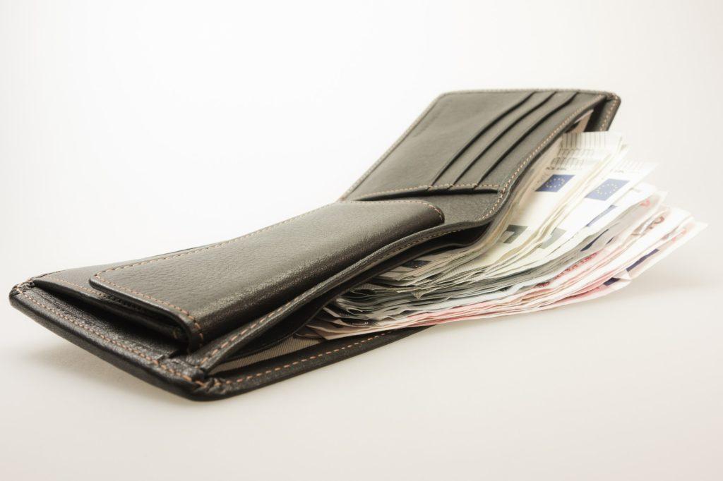 財布お金リッチ