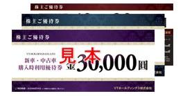 VTHD株主優待券