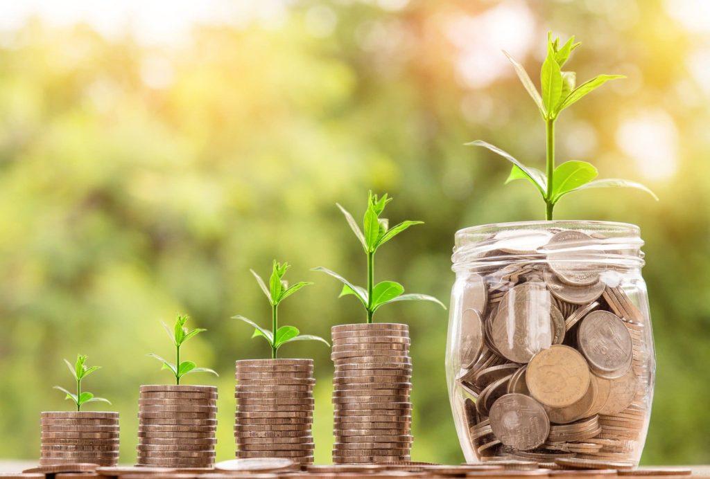 お金が再投資で育つ