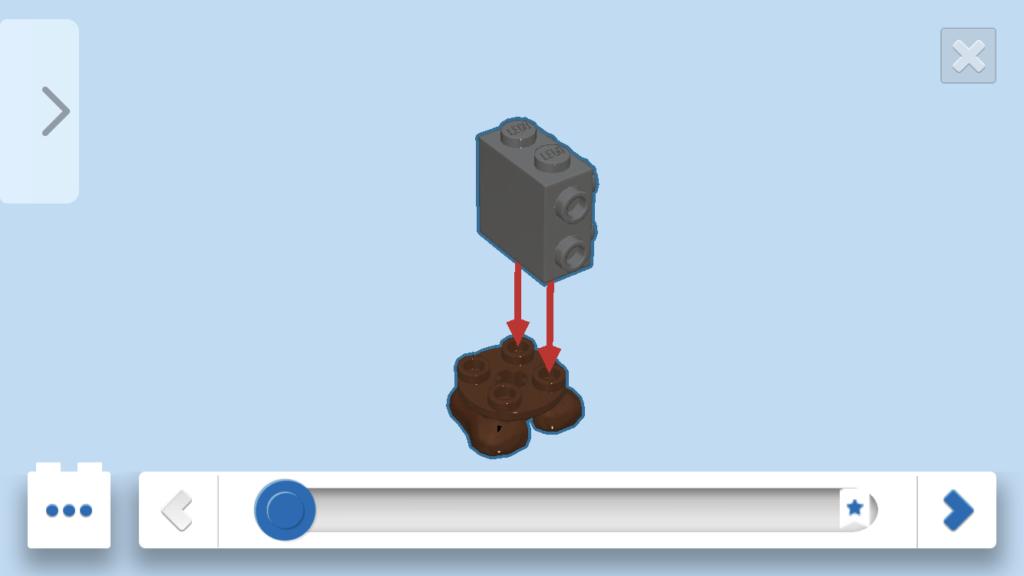 レゴマリオクリボー作成手順1