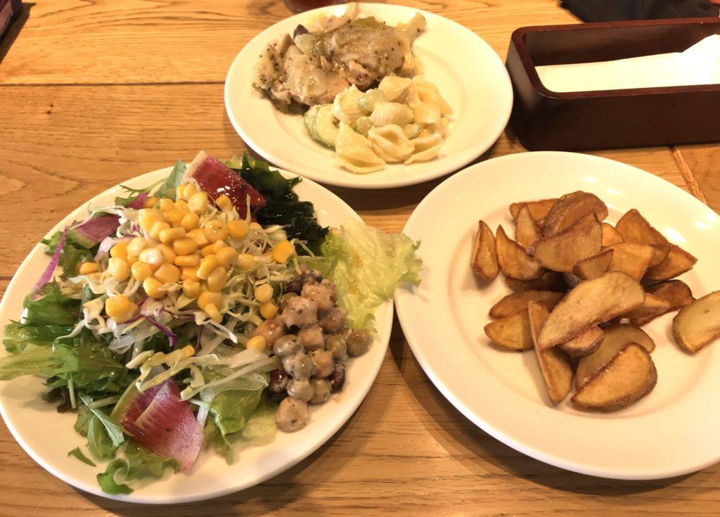 タントタントサラダバー&イタリアン前菜バー