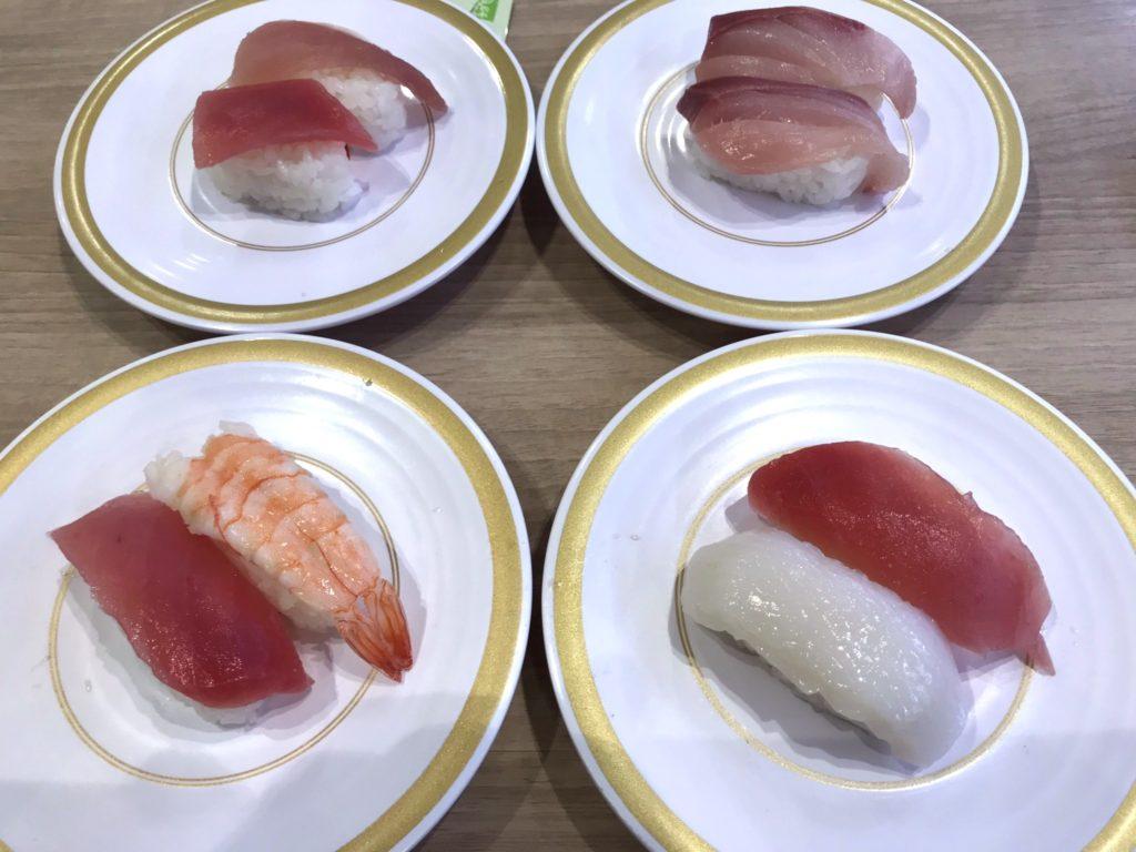 カッパ寿司お寿司
