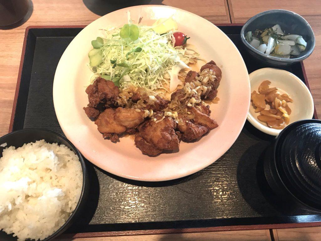 北海道油淋鶏定食