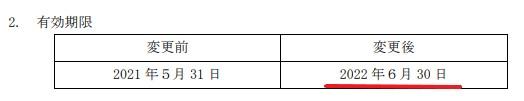JR東海株主優待期限延長情報