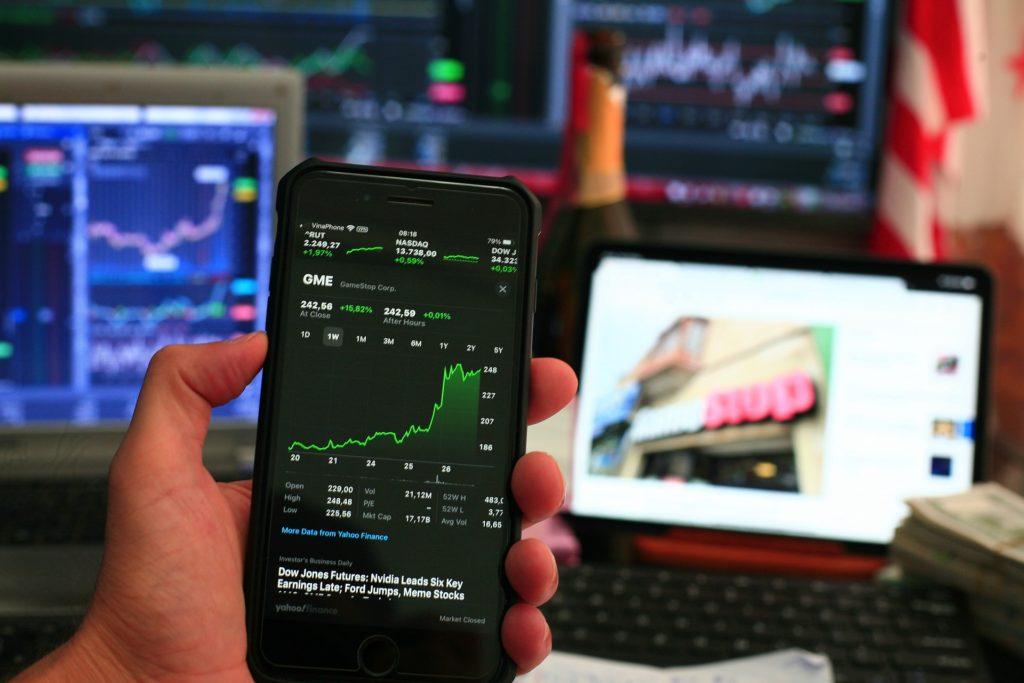 株取引スマホ